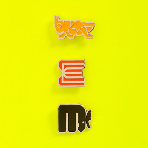 Lance Wyman: The Visual Diaries 1973–1982, Enamel Badges