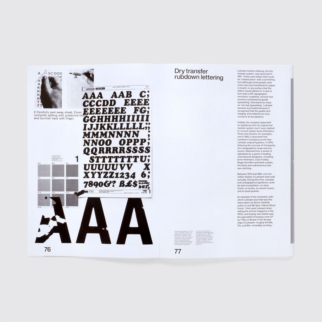 Letraset:The DIY Typography Revolution