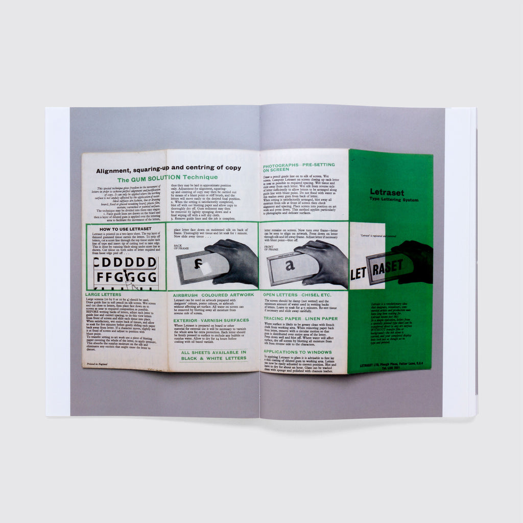 Letraset: The DIY Typography Revolution. Free poster (while stocks last)