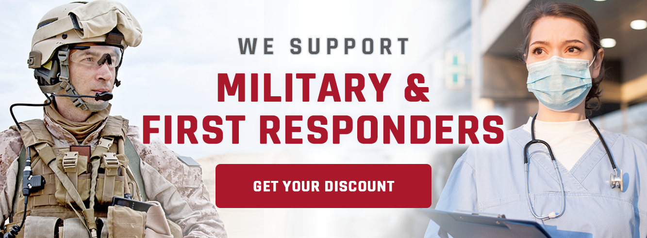 Claim Your Military Discount