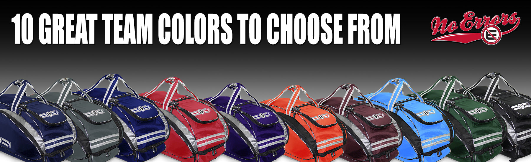 NO-ERRORS Baseball and Softball bags