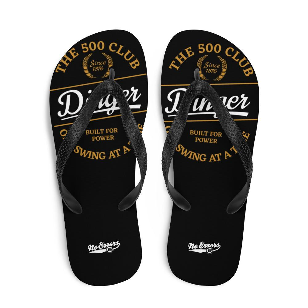 NE 500 CLUB Dinger Flip-Flops - No Errors Sports