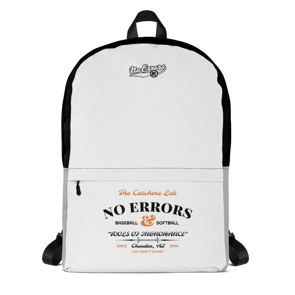 NE CATCHERS LAB SCHOOL BACKPACK - No Errors Sports
