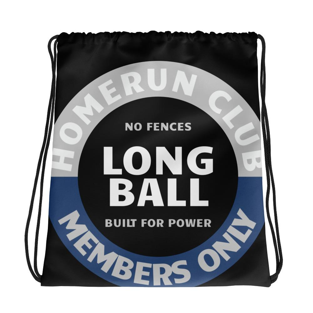 NE LONG BALL Drawstring bag - No Errors Sports