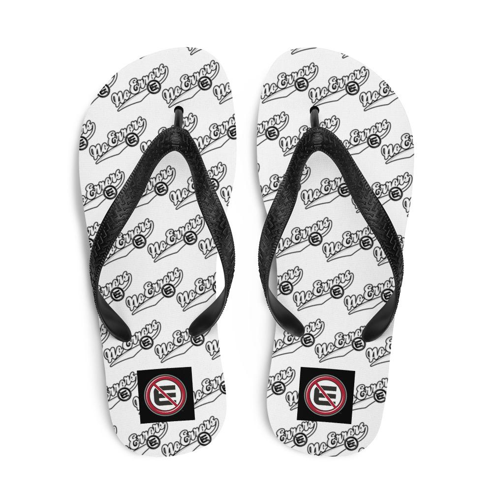 NE SCRIPT Flip-Flops - No Errors Sports