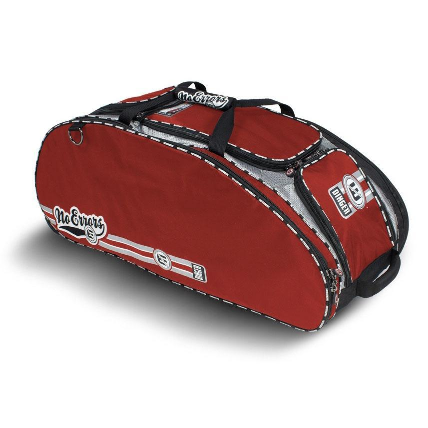 The Dinger II Wheeled Bat Bag - No Errors Sports