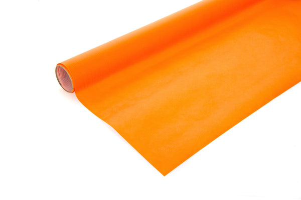 2m Roll Bright Orange Kraft Paper