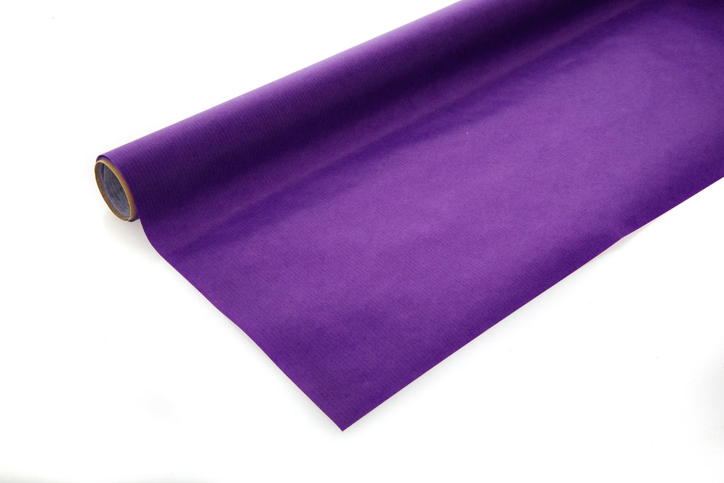 2m roll Bright Purple Kraft Paper