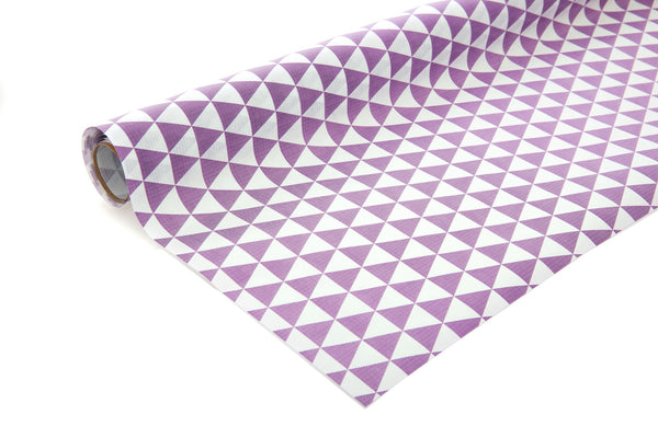 3m White Kraft Paper with Purple Triangles