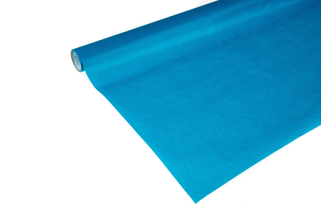 2m roll Teal Coloured Kraft Paper