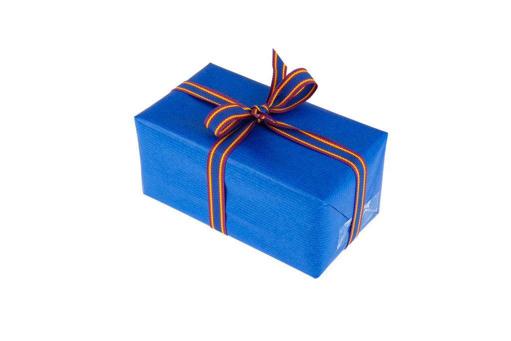 2m roll Royal Blue Kraft Paper
