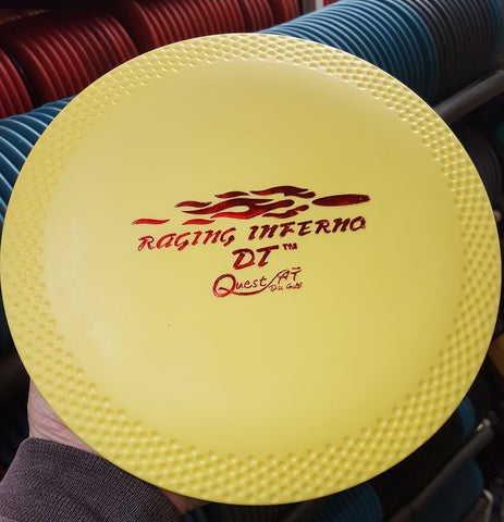Raging Inferno DT^2 - Distance Driver Disc Golf Disc