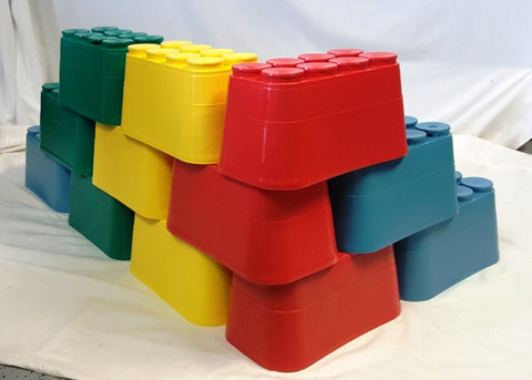 OneDerBrick Stacking Bricks - Set of 12