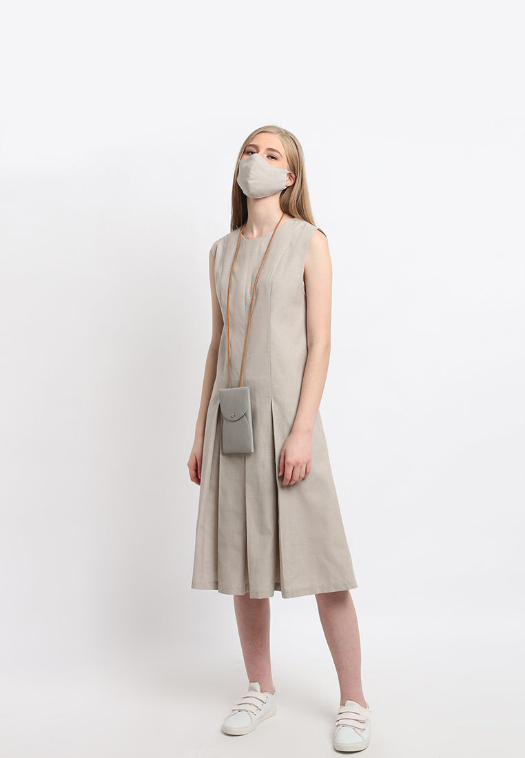 Ninewillows x Doxology - Olia Dress (Free Cloth Face Mask)