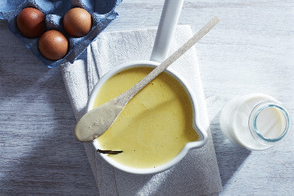 Homemade custard