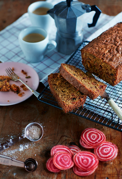 Fruity beetroot cake