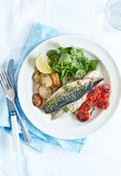 roast mackerel