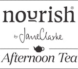 nourish afternoon tea logo