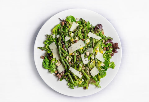 asparagus and Parmesan salad