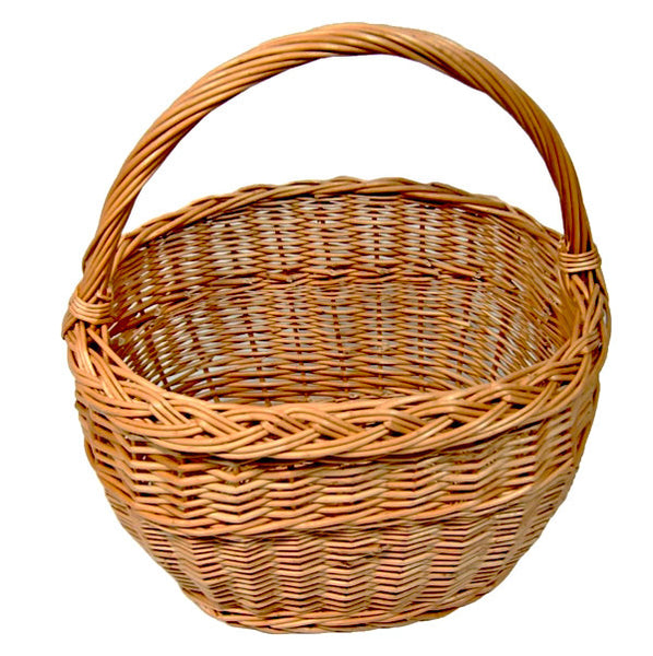 Ellipse Wicker Basket 2