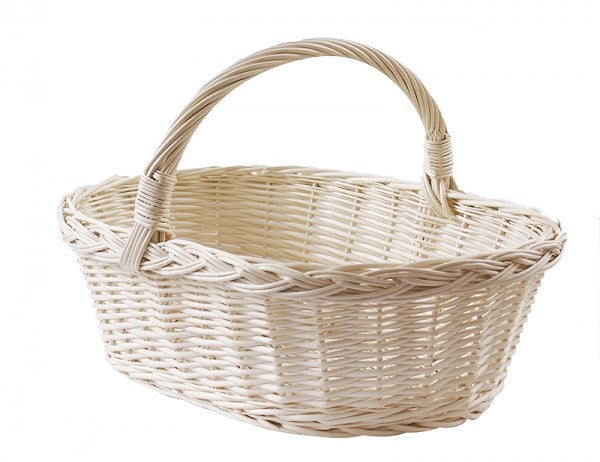 White Shopping Basket