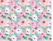 Load image into Gallery viewer, Rose Watercolor Wallpaper- Icing - ISA121 - Sugar, Frosting Paper, Sugar Art