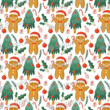 Load image into Gallery viewer, Christmas Tree Gingerbread Pattern - Icing - ISA142 - Sugar, Frosting Paper, Sugar Art