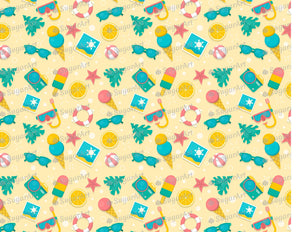Summer Vacation Background.jpg - Icing - ISA143 - Sugar, Frosting Paper, Sugar Art
