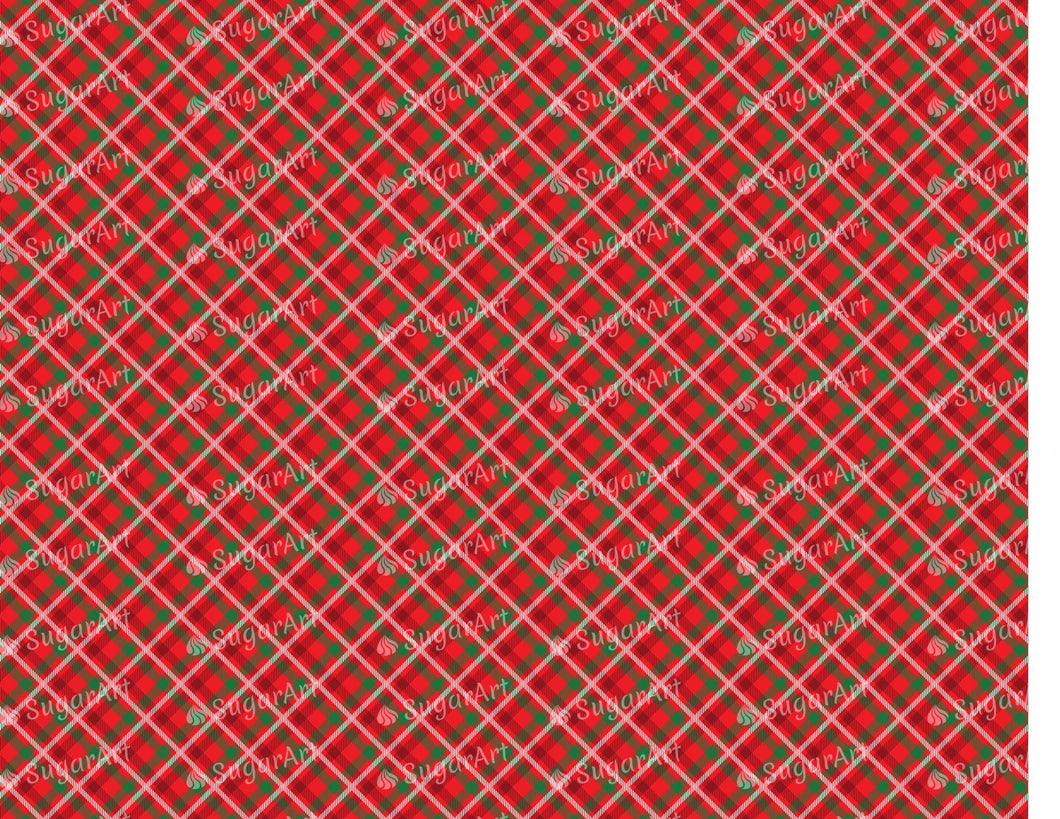 Classic Red Tartan - Icing - ISA148
