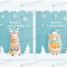 Load image into Gallery viewer, Winter Holidays Set - Icing - ISA161 - Sugar Art Canada