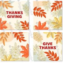 Load image into Gallery viewer, Thanksgiving 2.5 inch Squares Set - Icing - ISA176