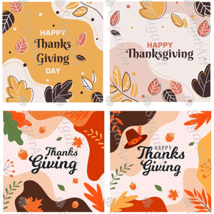 Happy Thanksgiving Collection - Icing - ISA178