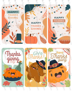 Thanksgiving Six Banners - Icing - ISA180