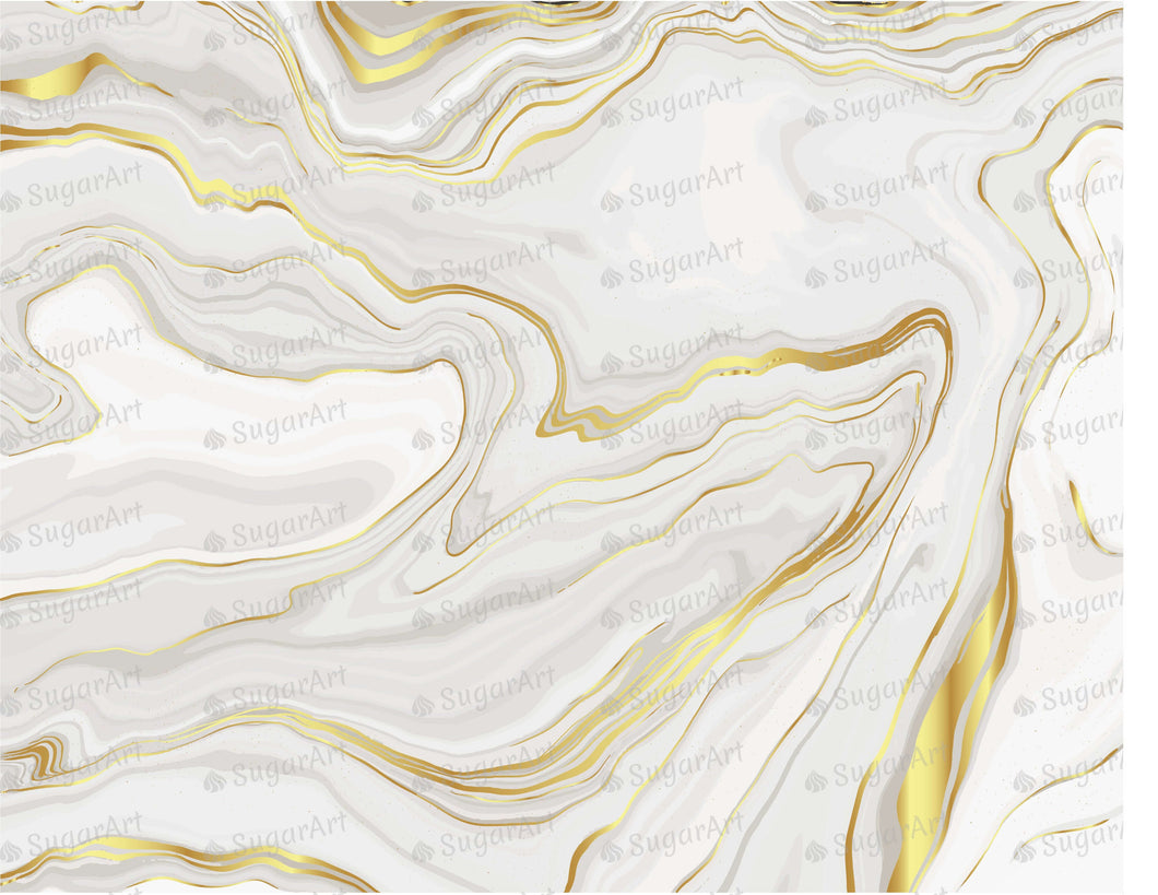 Luxury Grey Gold Marble Background - Icing - ISA192
