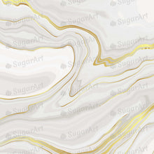 Load image into Gallery viewer, Luxury Grey Gold Marble Background - Icing - ISA192