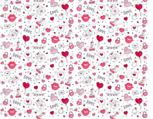 Love Potion Cute Valentine Day Background - Icing - ISA202