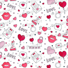 Load image into Gallery viewer, Love Potion Cute Valentine Day Background - Icing - ISA202