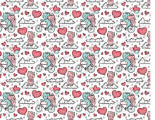 Load image into Gallery viewer, Romantic Cats on- Bicycle - Icing - ISA205