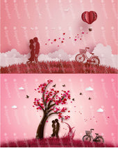 Load image into Gallery viewer, Two Love Story Illustrations - Icing - ISA207