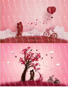 Two Love Story Illustrations - Icing - ISA207