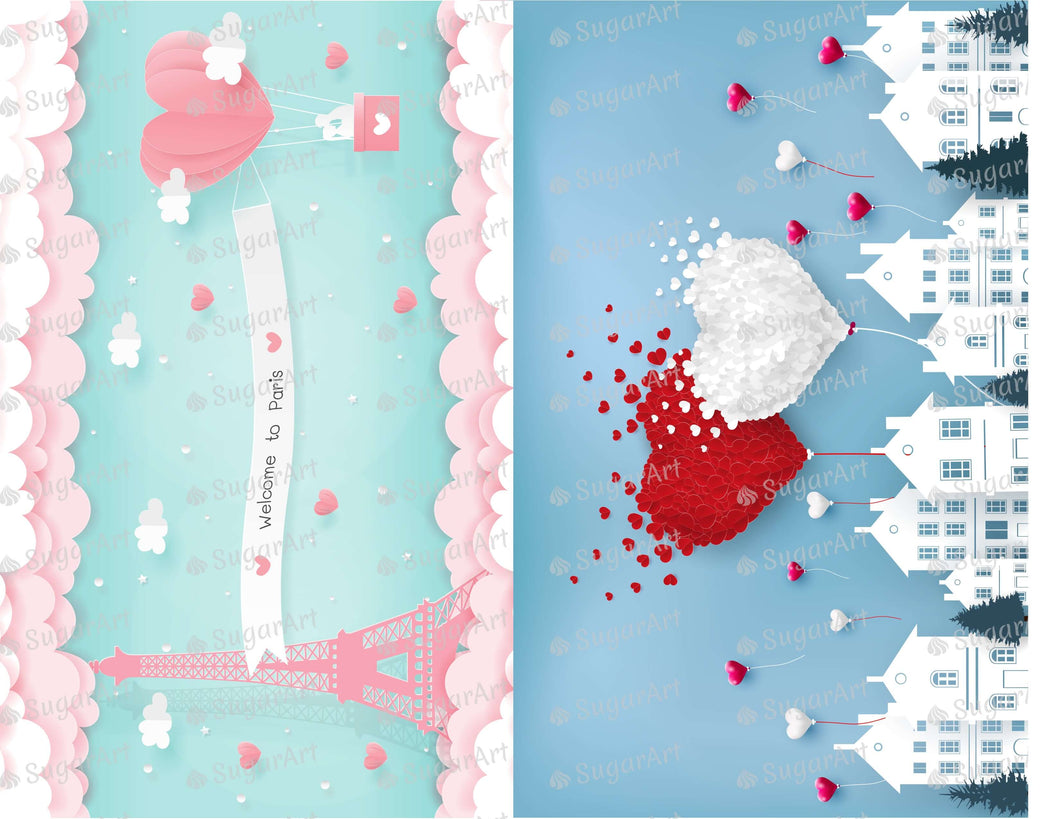 Two Romantic Illustrations - Icing - ISA219