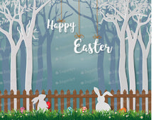 Load image into Gallery viewer, Happy Easter with Cute Rabbits - Icing - ISA236