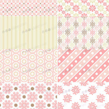Load image into Gallery viewer, Pink Flowers, Tenderness - B18-Sugar Stamp sheets-Sugar Art