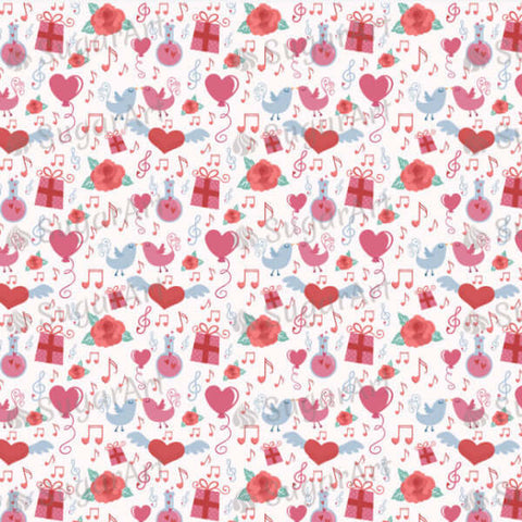 Romantic Valentine background - BSA001