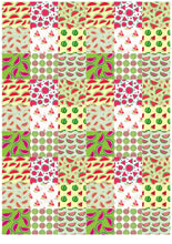 Load image into Gallery viewer, Watermelon Pattern - BSA011-Sugar Stamp sheets-Sugar Art