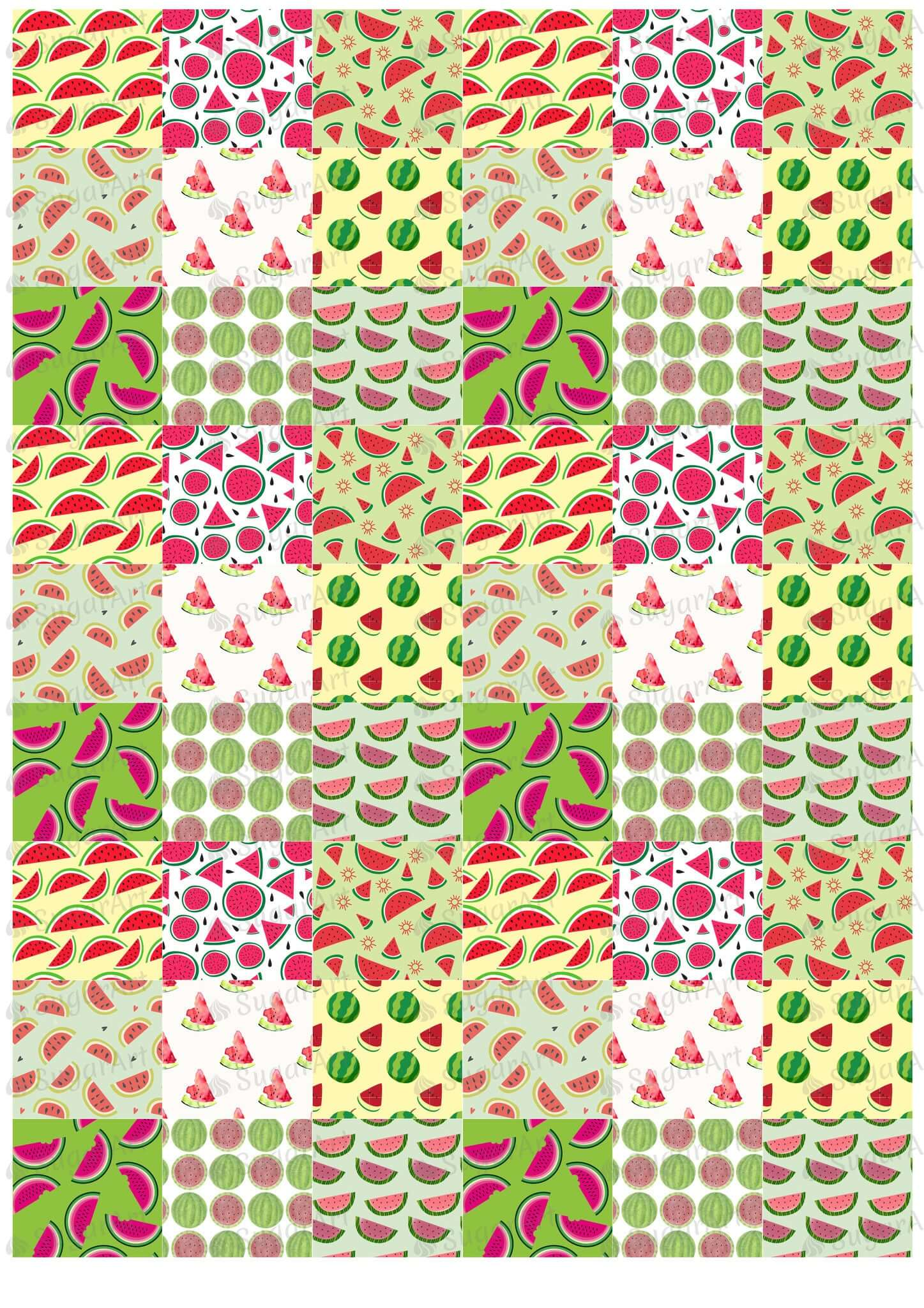 Watermelon Pattern - BSA011