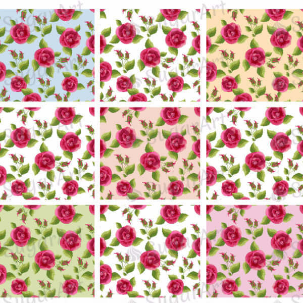 Floral Background - BSA020