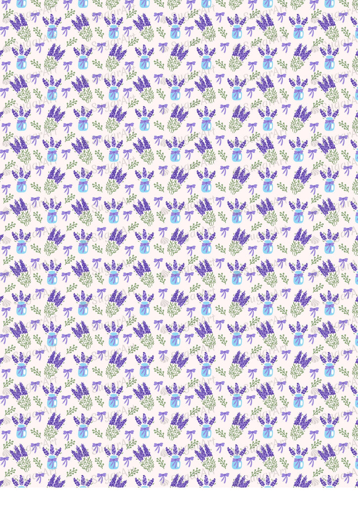Watercolor Lavender Background - BSA028