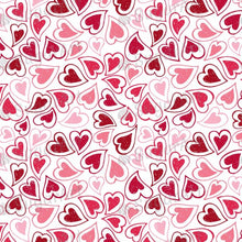 Load image into Gallery viewer, Hearts Background - BSA029 - Sugar Art