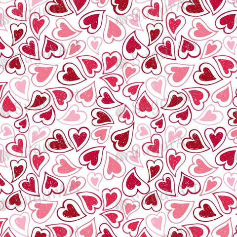 Hearts Background - BSA029